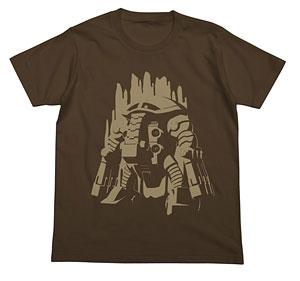 機動戦士ガンダムUC(ユニコーン) ジュアッグTシャツ/ダークブラウン-L