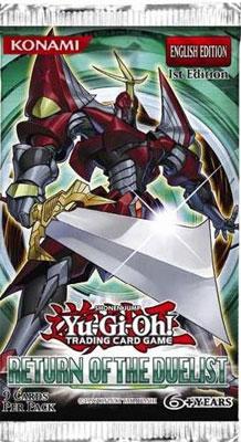 【英語版】遊戯王  RETURN OF THE DUELIST(リターン オブ ザ デュエリスト) 1st BOX[コナミ]《在庫切れ》