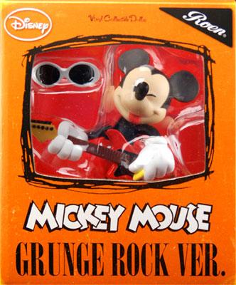 ヴァイナルコレクティブルドール No.186 ミッキーマウス(グランジロックVer.)[メディコム・トイ]《取り寄せ※暫定》