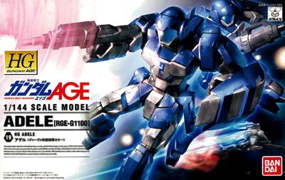 HG 1/144 アデル(ディーヴァ所属部隊カラー) プラモデル 『機動戦士ガンダムAGE』より(再販)[バンダイ]《取り寄せ※暫定》