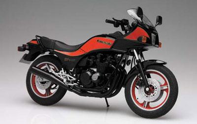 1/12 NAKED BIKE No.14 Kawasaki GPz400 Plastic Model(Back-order)1/12 ネイキッドバイク No.14 カワサキGPZ400 プラモデルAccessory
