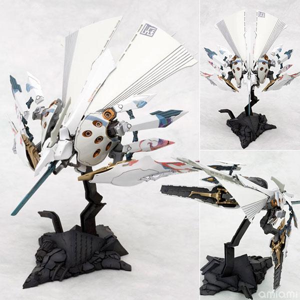 斑鳩 飛鉄塊 銀鶏[白] プラスチックキット[コトブキヤ]《在庫切れ》