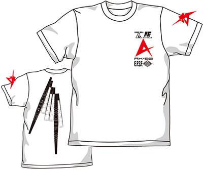 機動戦士ガンダム 逆襲のシャア ν(ニュー)ガンダムTシャツ/ホワイト-M