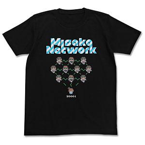 とある魔術の禁書目録(インデックス)II ミサカネットワークTシャツ/ブラック-L