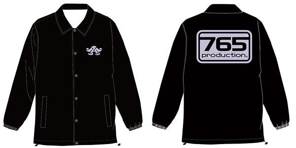 THE IDOLM@STER(アイドルマスター) 765プロ ウインドブレーカー/ブラック-M(再販)[コスパ]《07月予約》