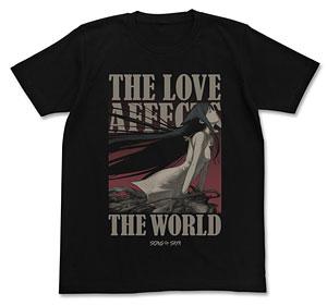 沙耶の唄 Tシャツ/ブラック-XL