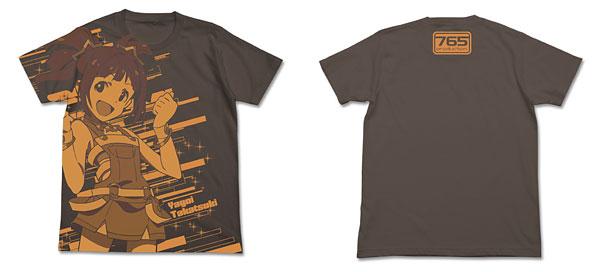 THE IDOLM@STER(アイドルマスター) アニメ 高槻やよい オールプリントTシャツ/チャコール-XL(再販)[コスパ]《在庫切れ》