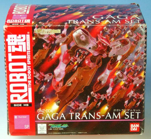 ROBOT魂 -ロボット魂-〈SIDE MS〉 機動戦士ガンダムOO(ダブルオー) ガガ トランザムセット(魂ウェブ限定)