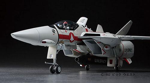 """超時空要塞マクロス 1/48 VF-1J/A バルキリー """"バーミリオン小隊"""" プラモデル(再販)[ハセガワ]《06月予約》"""