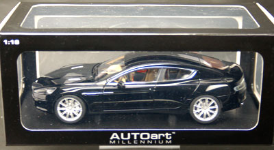 Beau AmiAmi [Character U0026 Hobby Shop] | Diecast Model Car 1/18 Aston Martin  Rapide (Black)(Back Order)