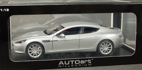 Superbe AmiAmi [Character U0026 Hobby Shop] | Diecast Model Car 1/18 Aston Martin  Rapide (Silver)(Back Order)