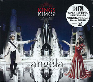 【MV】angela--KINGS 【K】OP 完整版(中文字幕)_哔哩哔哩_bilibili