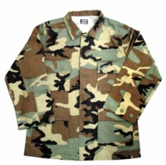 BDUジャケットのみ(USA ARMY・カモ)Sサイズ[イーグル模型]《取り寄せ※暫定》