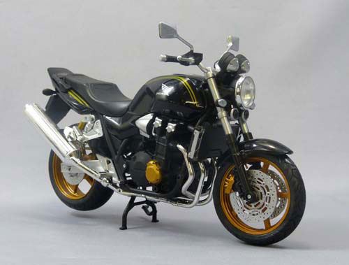 1/12 Complete Motorcycle Model Honda CB1300 SUPER FOUR (BLACK)(Back-order)1/12 完成品バイク ホンダ CB1300 SUPER FOUR(ブラック)Accessory