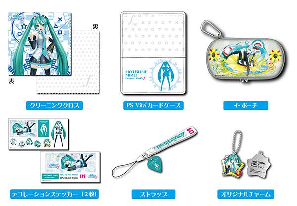 PS Vita用 【アクセサリーセット】初音ミク -Project DIVA- f[セガ]《在庫切れ》