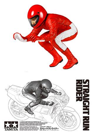 1/12 オートバイシリーズ No.123 ストレートランライダー プラモデル[タミヤ]《取り寄せ※暫定》