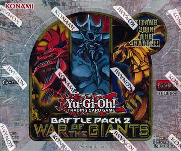 【北米版】遊戯王 バトルパック2:War of the Giants BOX[コナミ]《在庫切れ》