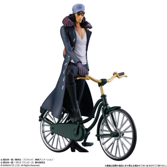 超ワンピーススタイリング -FILM Z special- 青雉・クザン&自転車セット(食玩)[バンダイ]《在庫切れ》