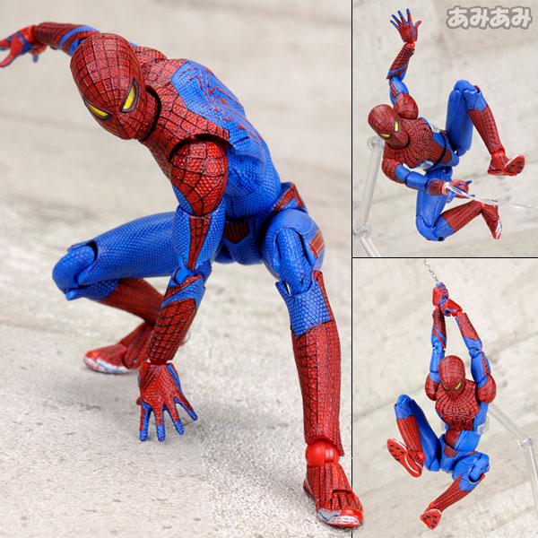 マフェックス No.001 アメイジング・スパイダーマン アクションフィギュア[メディコム・トイ]《在庫切れ》