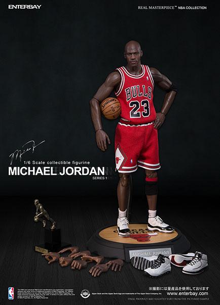 "NBAクラシックコレクション:マイケル・ジョーダン ロード・ユニフォーム ver ""I'm Legend #23""[エンターベイ]《取り寄せ※暫定》"