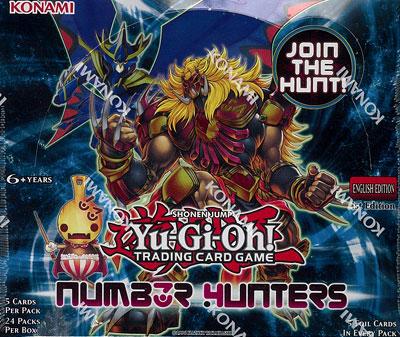 【英語版】遊戯王 Number Hunters Booster all foil Packs BOX[コナミ]《在庫切れ》