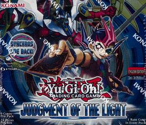 【英語版】遊戯王 Judgement of the Light(ジャッジメント オブ ザ ライト) BOX[コナミ]《在庫切れ》
