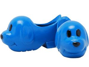 23cmドール用 動物シューズ 犬(青)(ドール用衣装)[キューティーズ]《発売済・在庫品》