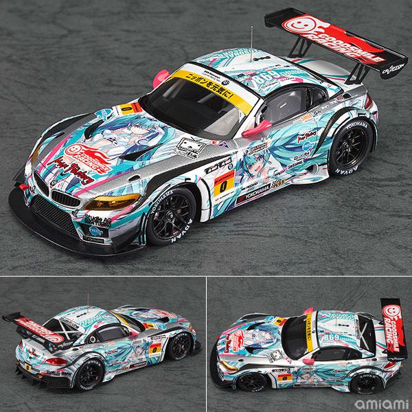 レーシングミク 2012 ver. 1/43 GSR 初音ミク BMW 2012 開幕ver.[グッドスマイルカンパニー]《在庫切れ》