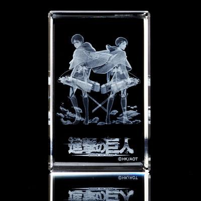 キュービックシアター「進撃の巨人 コレクション」 エレン&リヴァイ[CUBIC THEATER]《在庫切れ》