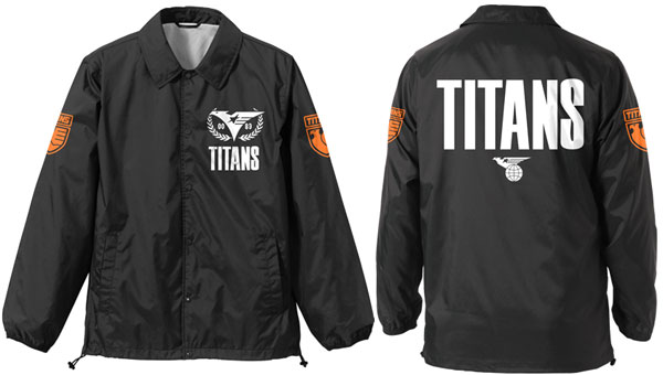 "Mobile Suit Z Gundam Titans raid jacket / black -XL (Resale) [Cospa] ""November reservation"""