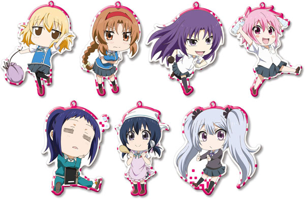 AmiAmi [Character & Hobby Shop] | D-Frag! Trading Metal Charm ...