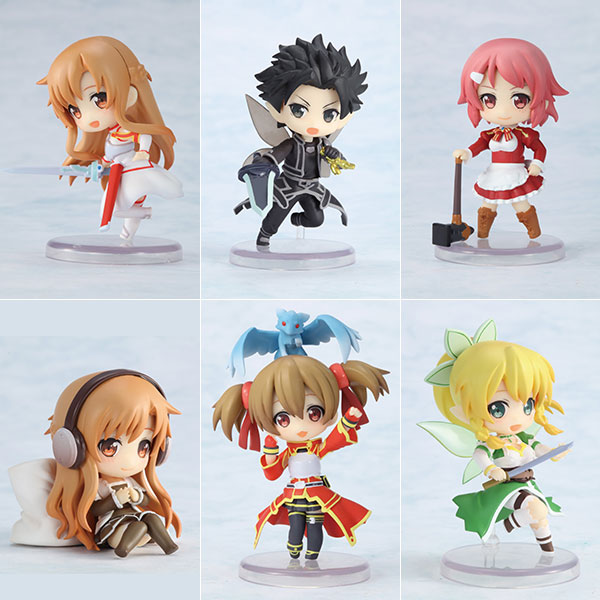 Toy'sworks Collection Niitengo Deluxe - Sword Art Online 6Pack BOX(Pre-order)トイズワークスコレクション にいてんごでらっくす ソードアート・オンライン 6個入りBOXAccessory