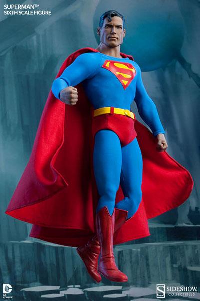 サイドショウ・シックス・スケール DCコミックス 1/6スケールフィギュア スーパーマン[サイドショウ]《在庫切れ》