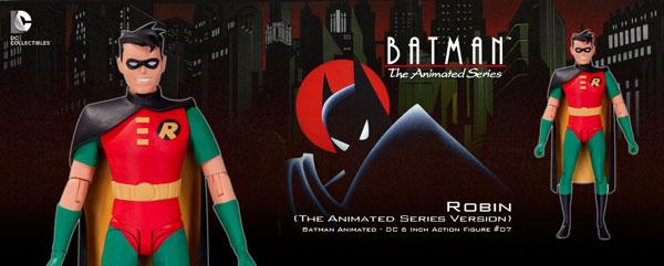 バットマン アニメイテッド 6インチ #07 ロビン(ザ・アニメイテッド・シリーズ版)