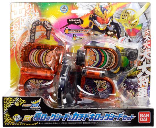 【クリックで詳細表示】仮面ライダー鎧武 DX極ロックシード&カチドキロックシードセット[バンダイ]《在庫切れ》
