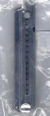 金属製モデルガン・ダミーカートリッジ仕様 ルガーP08用スペアマガジン