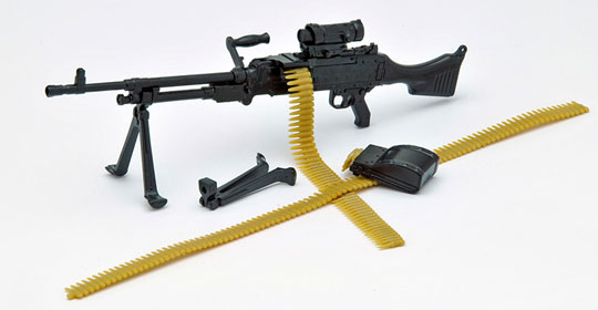 Little Armory LA006 M240G Type Plastic Model Released LA006 M240GタイプAccessory