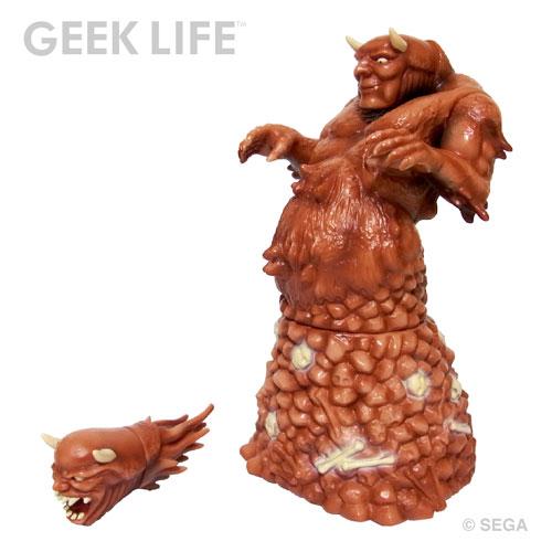 セガ・レトロゲーム ソフビ コレクション 獣王記 ステージ1 ボス ハガー[GEEK LIFE]《在庫切れ》