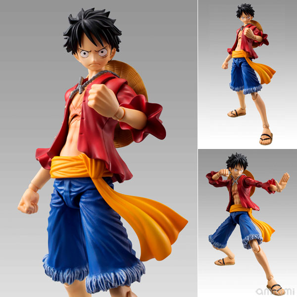Variable Action Heroes ONE PIECE: Monkey D. Luffy Action Figure Pre order D・ルフィScale Figure