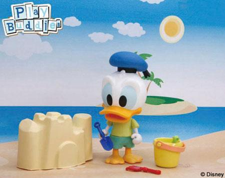 ディズニー フィギュアシリーズ ドナルドの夏休み[プラッツ]《発売済・在庫品》