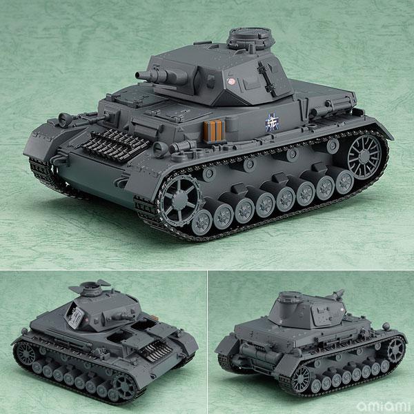 ねんどろいどもあ ガールズ&パンツァー IV号戦車D型