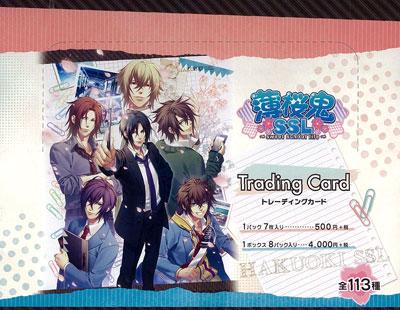 薄桜鬼SSL-sweet school life- トレーディングカード 8パック入りBOX[ムービック]《在庫切れ》