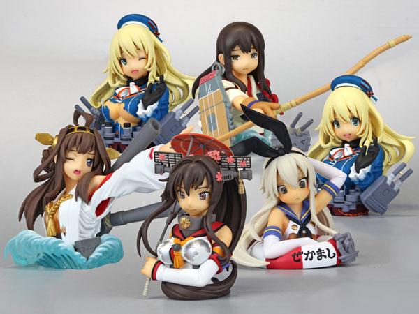 カプセルQフロイライン 艦隊これくしょん-艦これ- 艦娘中破胸像名鑑 12個入りBOX