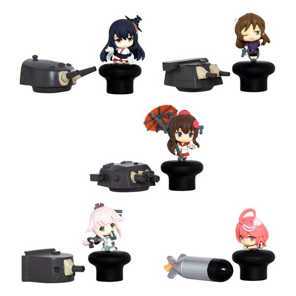 艦隊これくしょん -艦これ- イヤフォンジャックフィギュア 其ノ弐 5個入りBOX[メディアファクトリー]《在庫切れ》