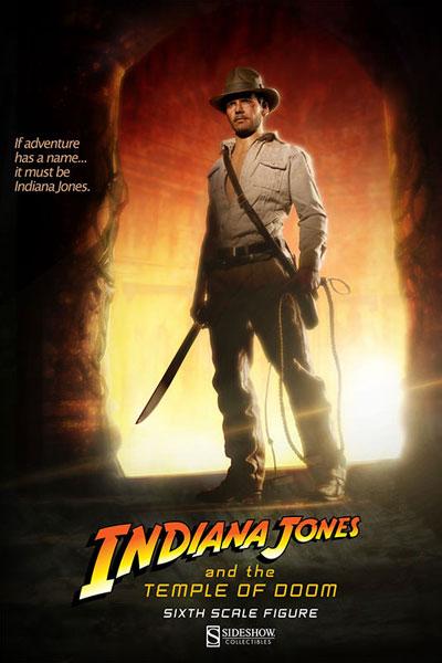 インディ・ジョーンズ/魔宮の伝説 サイドショウ・シックス・スケール インディアナ・ジョーンズ[サイドショウ]【送料無料】《在庫切れ》