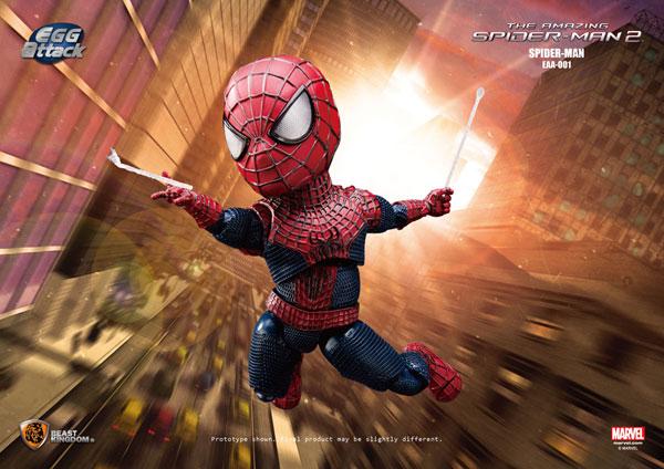 エッグアタック・アクション #001 アメイジング・スパイダーマン2 スパイダーマン[ビーストキングダム]《在庫切れ》