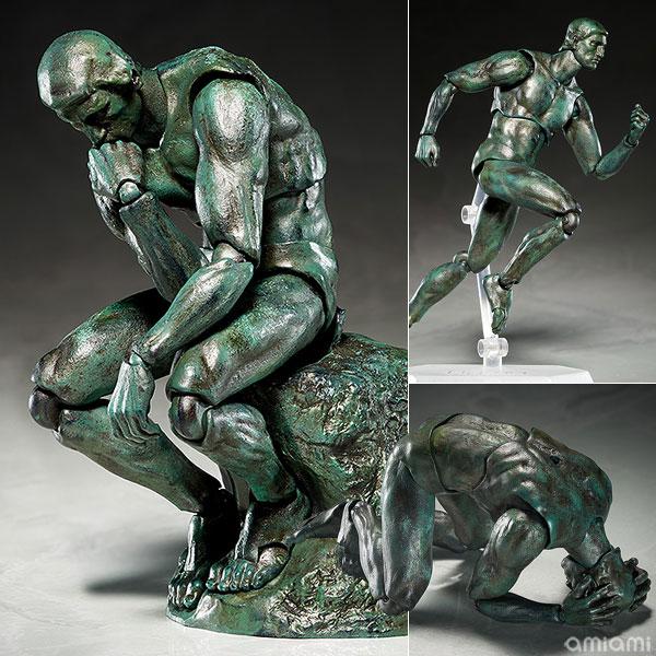 figma - The Table Museum: The Thinker(Pre-order)figma テーブル美術館 考える人Figma