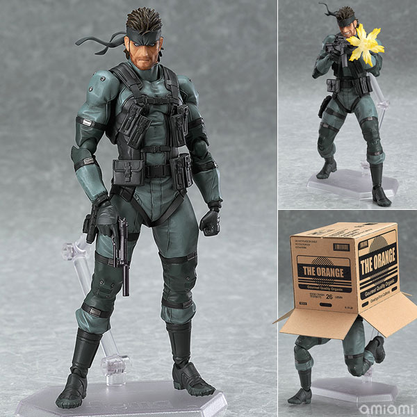 figma METAL GEAR SOLID2: SONS OF LIBERTY ソリッド・スネーク MGS2 ver.(再販)[マックスファクトリー]《08月予約》