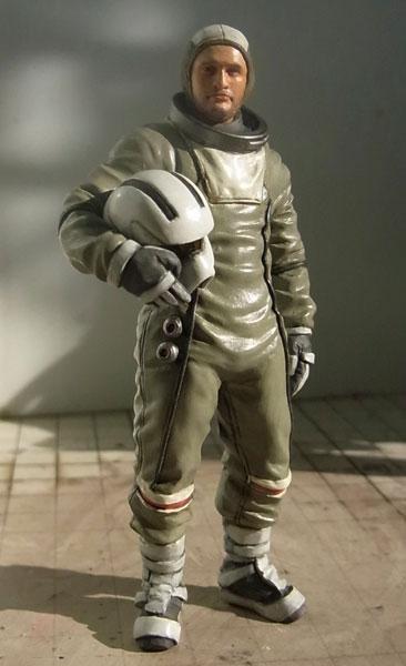 マシーネンクリーガー Ma.K.001 傭兵軍 FIREBALL用 パイロットフィギュア 1/20 組立キット(再販)[LOVE LOVE GARDEN]《在庫切れ》