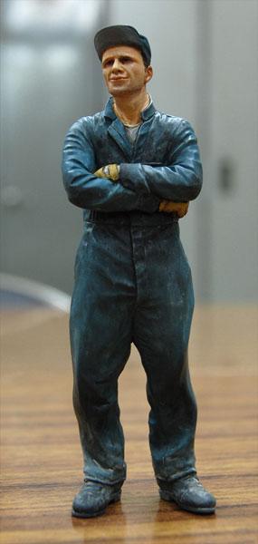マシーネンクリーガー Ma.K.003 シュトラール軍 整備兵フィギュア 1/20 組立キット(再販)[LOVE LOVE GARDEN]《在庫切れ》